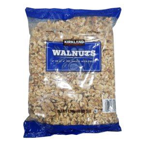 Kirkland Signature Raw Walnuts 3 Lb Bag
