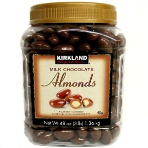 Kirkland Signature Milk Chocolate Almonds 3 lb