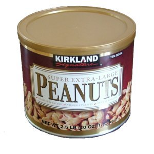 Kirkland Signature Super Extra Large Peanuts 40 oz