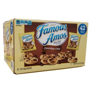 Famous Amos Chocolate Chip Cookies 42 2oz Pouches