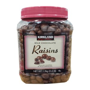 Kirkland Signature Milk Chocolate Raisins 3.4 lb