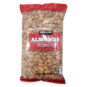 Kirkland Signature Supreme Whole Almonds 3 Lb Bag