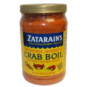 Zatarain's Crawfish Shrimp and Crab Boil 4.5 LB Sack Size